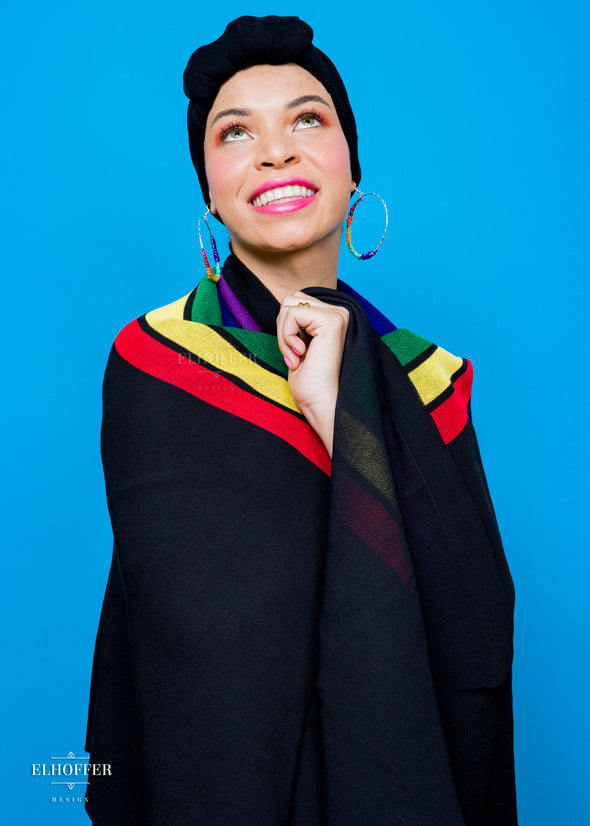 Blair Imani x Wrapped in Rainbow Knit Scarf