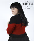 PREORDER - Interstellar Explorer Cardigan - Red - Elhoffer Design