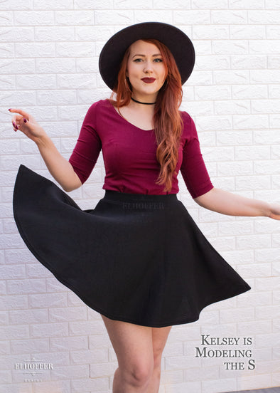 Essential Knit Skirt - Black