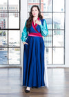 - Warrior in Adversity Maxi Wrap Dress