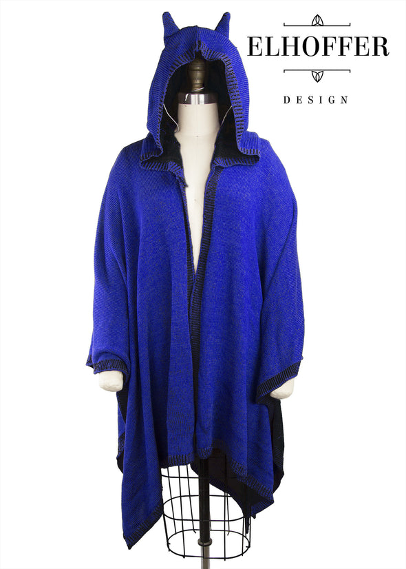Blue/Black - Retired Oracle Cape Poncho
