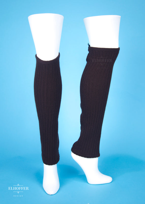 S - Brown - Less Stretch - Galactic General Leg Warmers