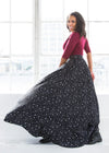 - Retired Essential Starry Witch Maxi Skirt