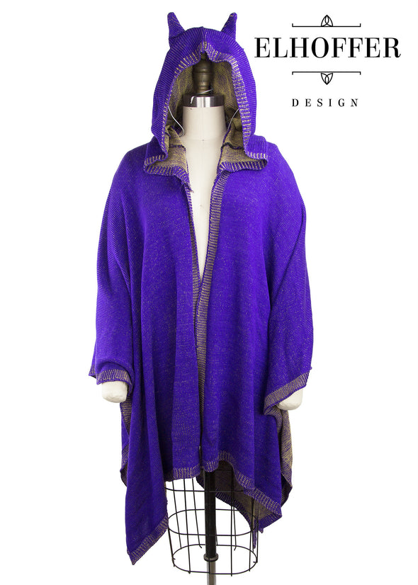 Purple/Yellow - Retired Oracle Cape Poncho