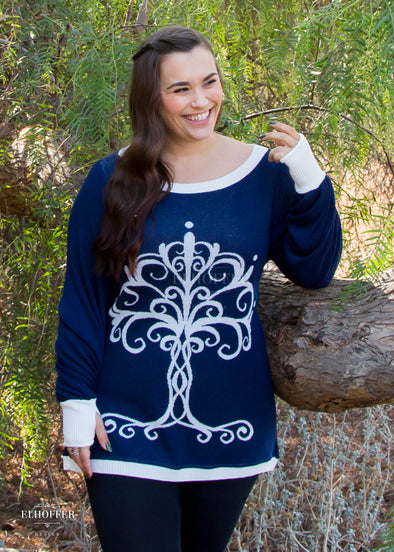 PREORDER - Tree of Kings Oversize Sweater