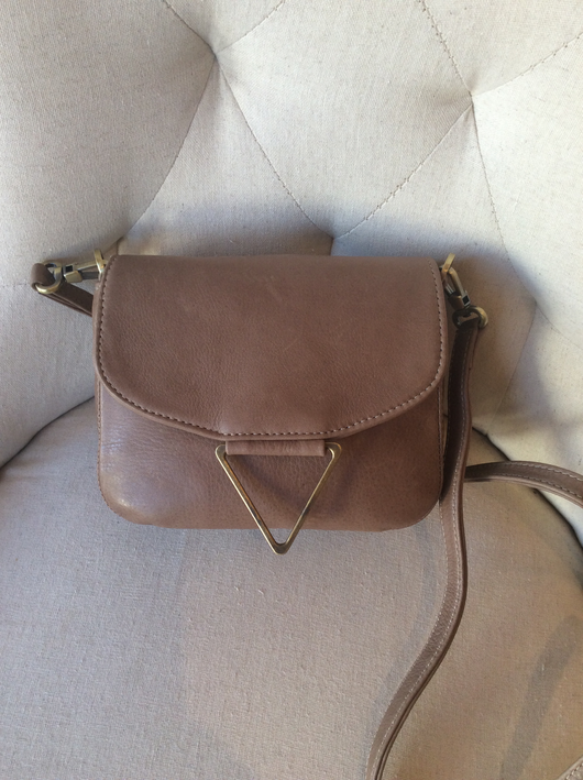 Mini Trinity Mink leather