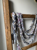 Recycled Braided Garland -All colors