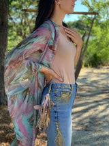 Secret Place Warrior Feathers Kimono