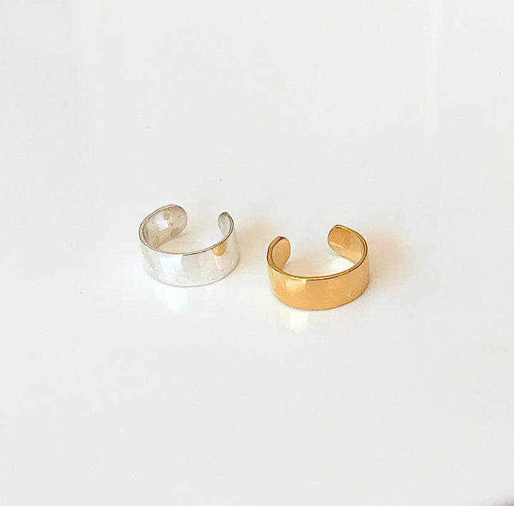 Small wide Earcuff