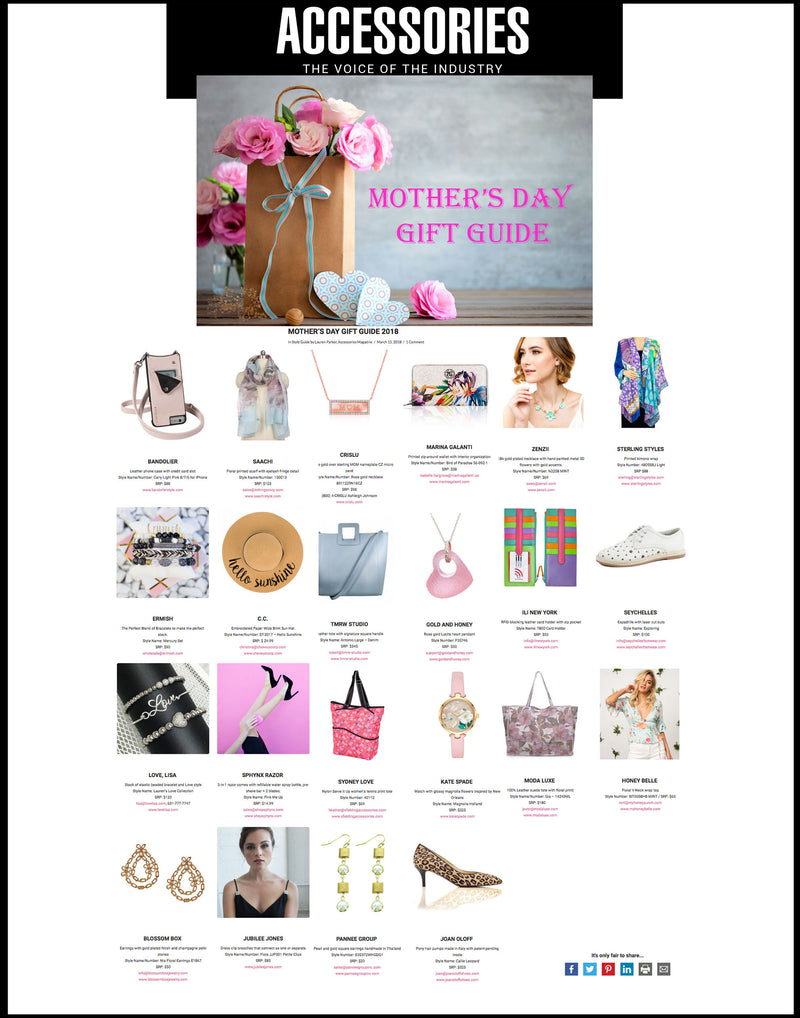 My Bracelets Made The Accessories Magazine Mother's Day Guide WOOHOO