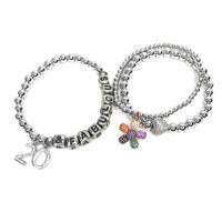 Three Stack Birthday Girl is Fabulous Bracelet Collection