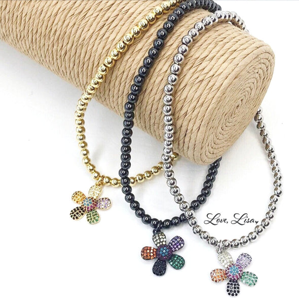 Lisa's Favorite Little Flower Anklet