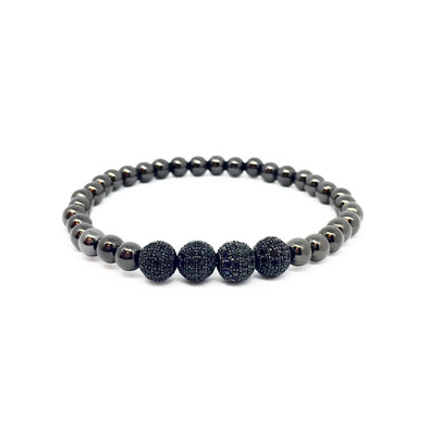 The Fabulous Four Black Diamond Bracelet