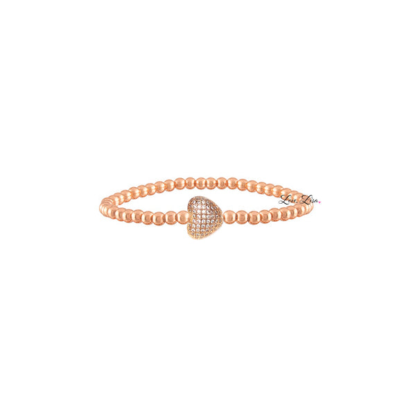 Lisa's Adorable Heart Bracelet