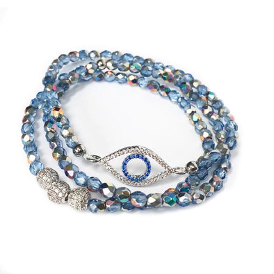 Evil Eye Seabreeze Bracelets