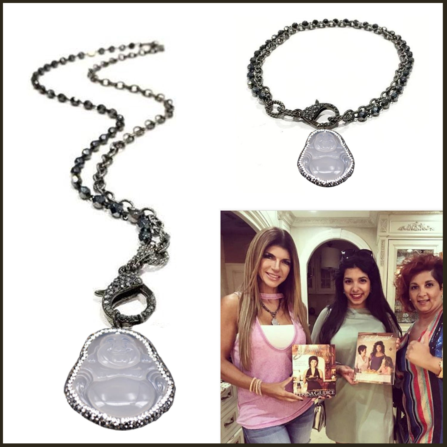 Lisa's Favorite Buddha Necklace