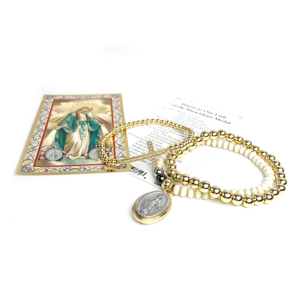 Prayer Bracelet to Our Lady of the Miraculous Medal