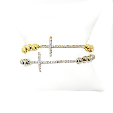 Lisa's Favorite Diamond Cross Bracelet