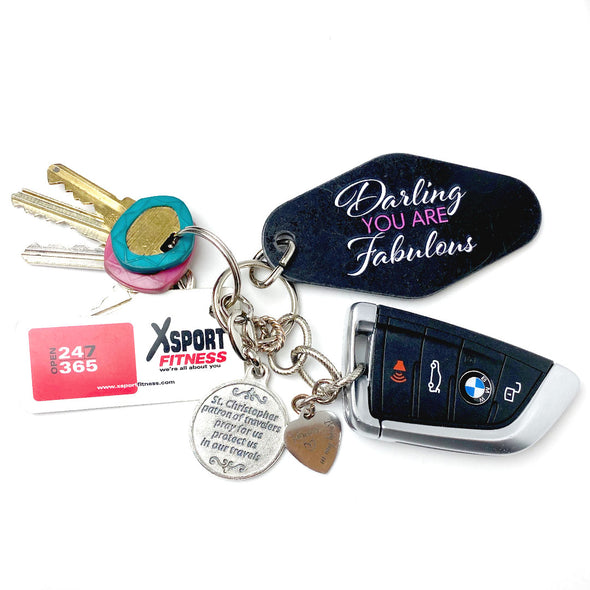 Limited Edition Darling You Are Fabulous Keychain