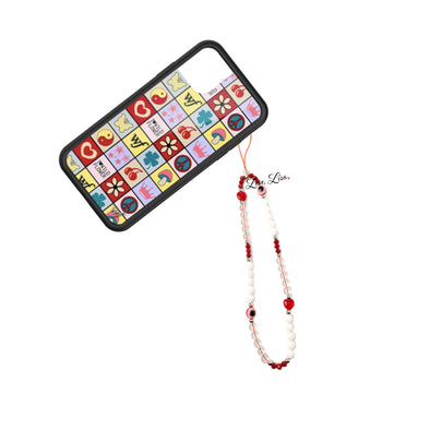 Wendy's Warding off You Know What Eye Beaded Phone Strap
