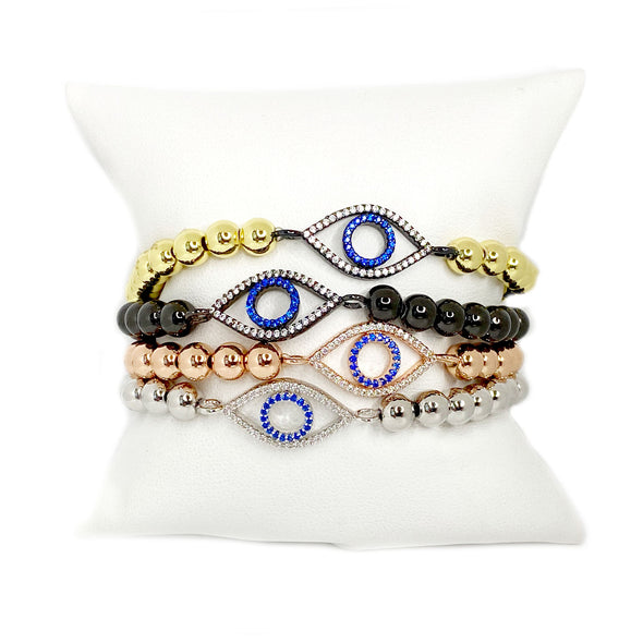 The Glam Evil Eye Bracelet