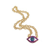 Lisa's 2020 Colorful Eye Chain Necklace