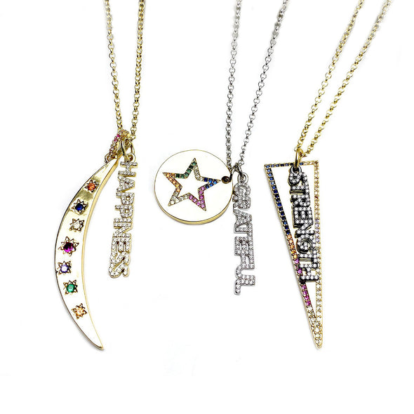 Sophia's Positive Message Necklace