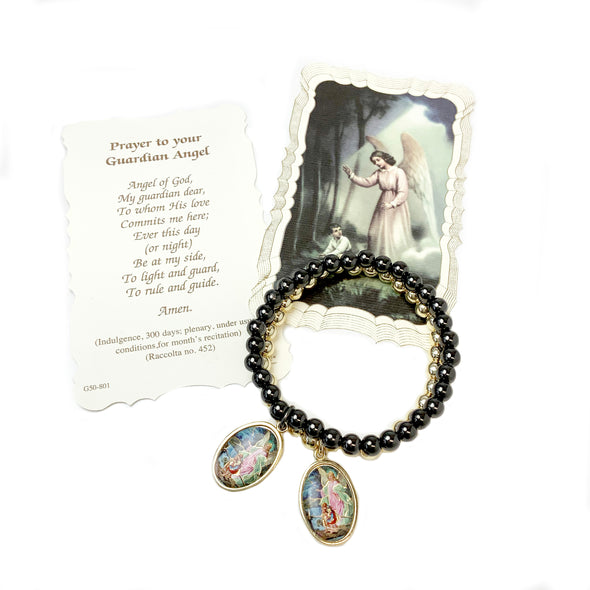Incredible Guardian Angel Beaded Bracelet