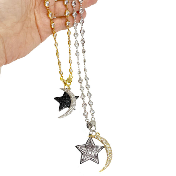 Danielle's Love You To The Moon Necklace