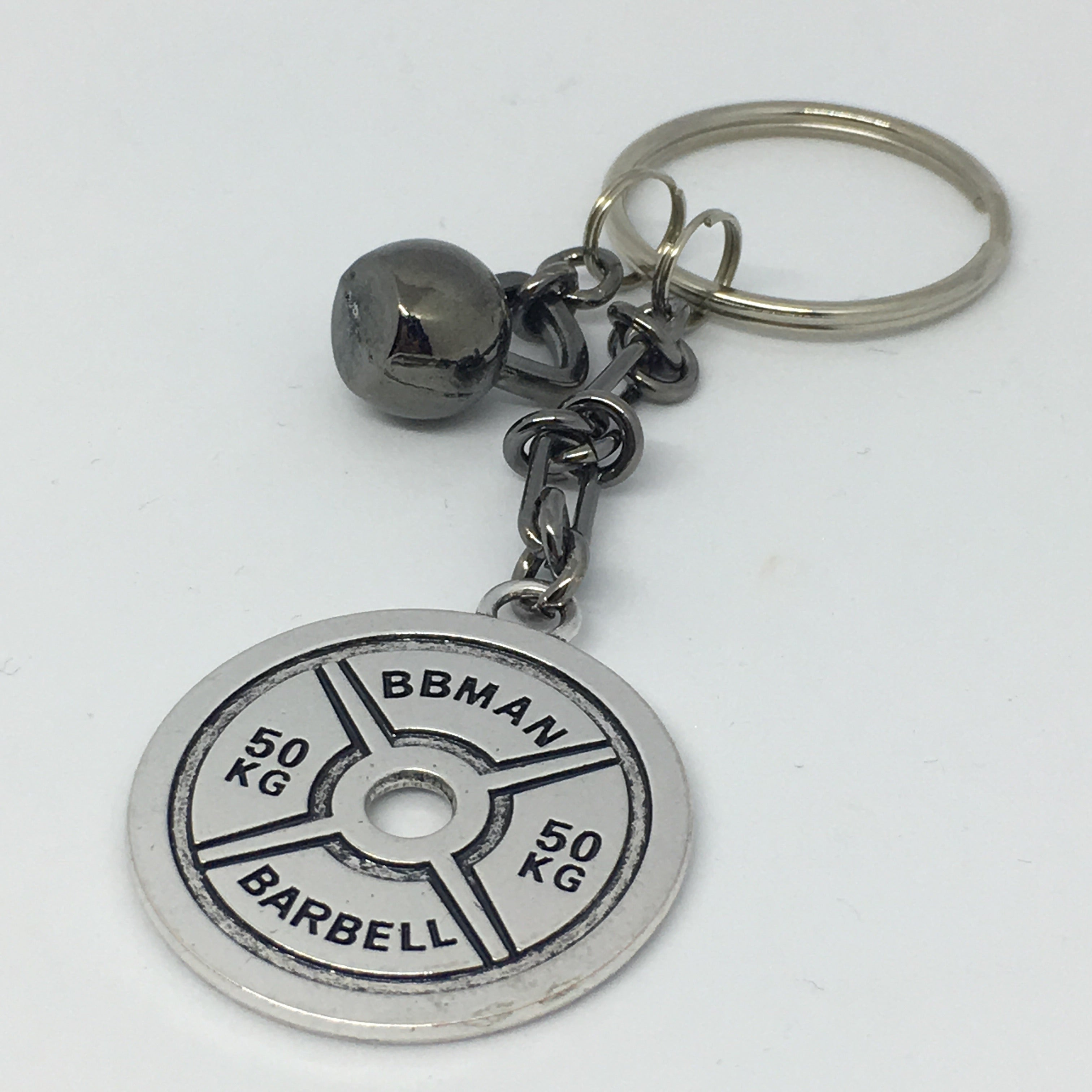 Train Hard Or Go Home Keychain