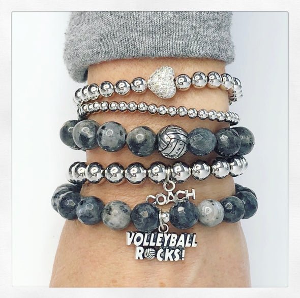 Volleyball Rocks Stack