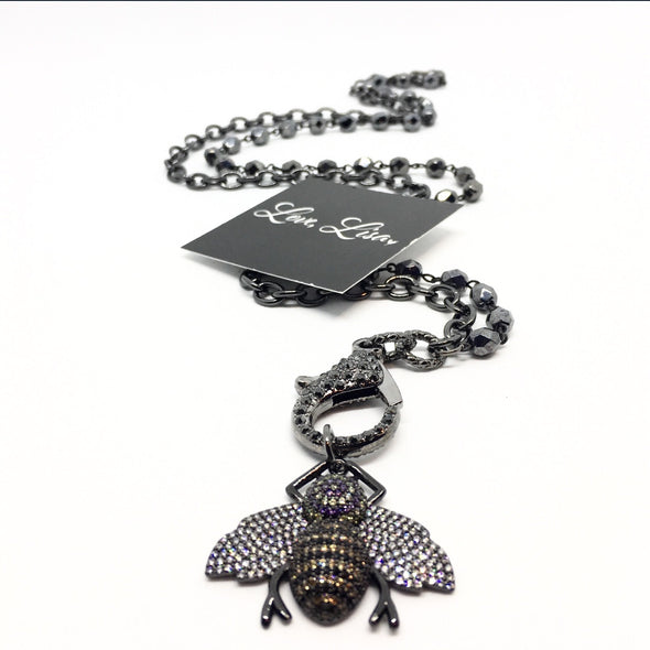 The Queen Bee Charm (Large)