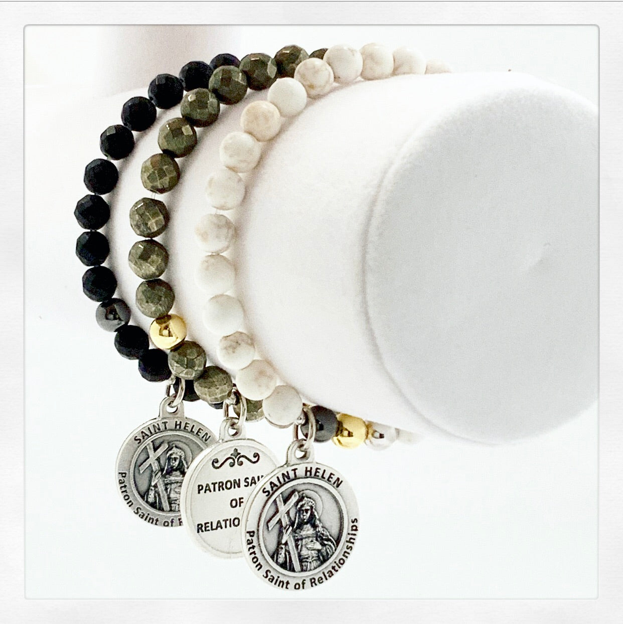 Relationship Bracelet (St. Helen Patron saint of relationships)