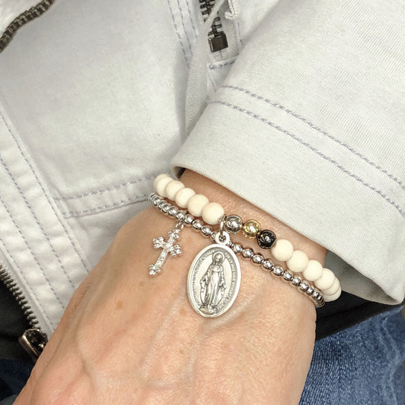 Miraculous Cross Set of Bracelets