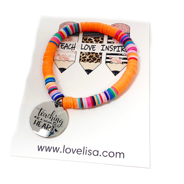 Lisa's Favorite Teachers Bracelet