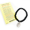 St. Cayetano Patron Saint of Bankers, Gamers, Gamblers, Job Seekers & Unemployed Beaded Bracelet