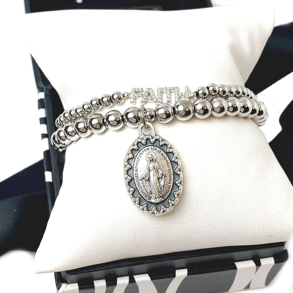 Beautiful Blessed Miraculous Beaded Bracelet