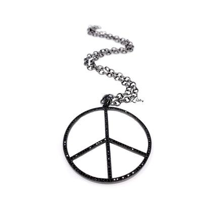 Believe There's Peace Necklace