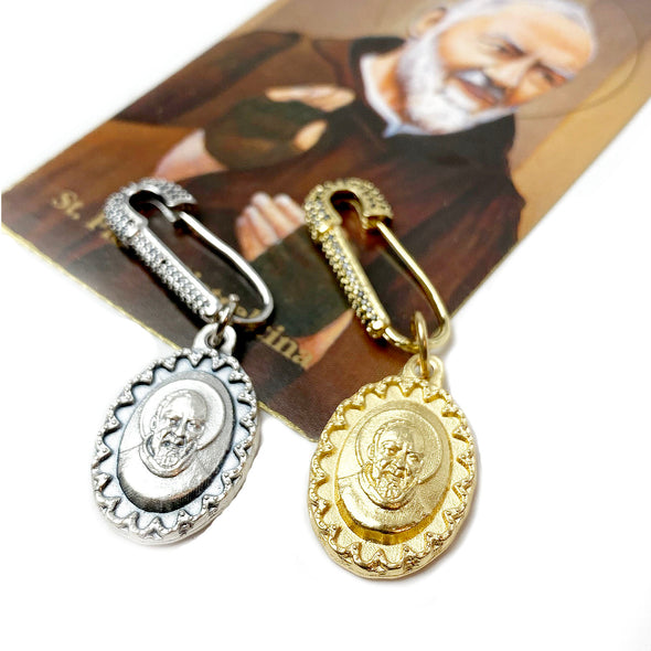 Padre Pio Healing Special Safety Pin