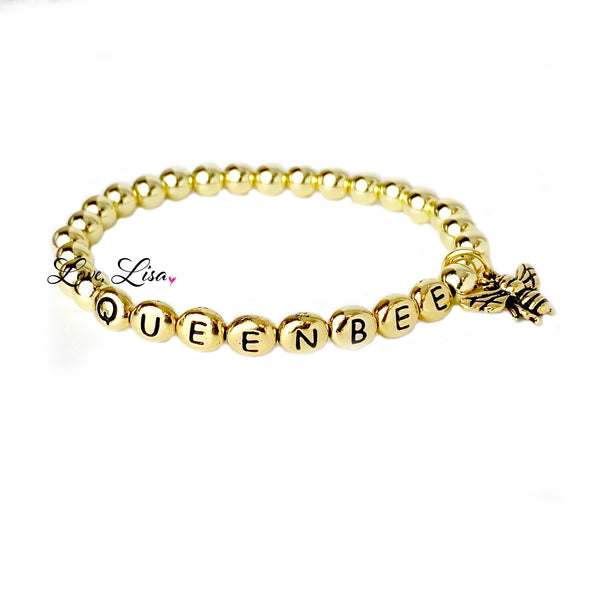 The All Time QUEEN BEE Beaded Bracelet