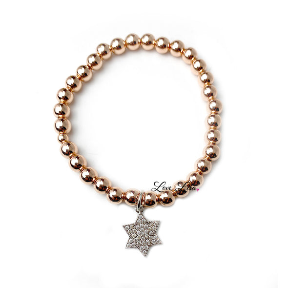 Hannah's Beautiful Jewish Star Hanukkah Bracelet