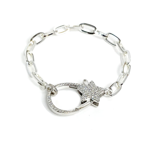 The Star's Paperclip Link Bracelet