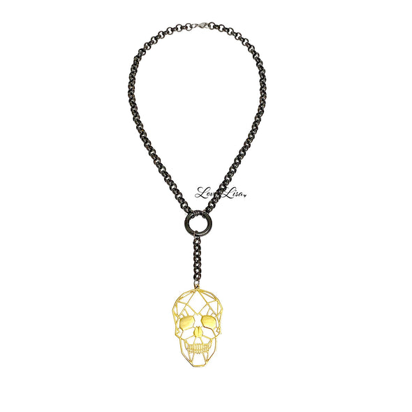 Laura's Unique Trending Skull Necklace