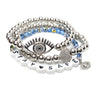 Sandy's Safe Evil Eye Beaded Bracelet