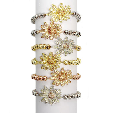 Lisa's Sunflower Bracelet
