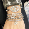 Rachael's VIP Stack Of Beaded Bracelets