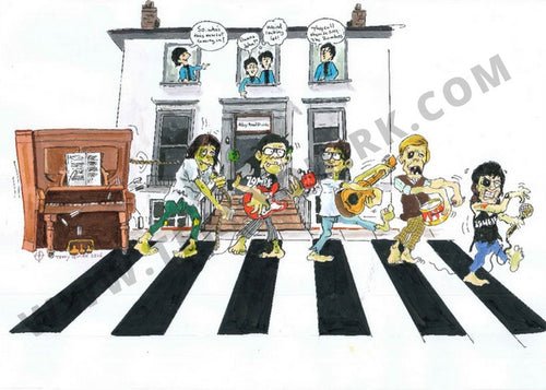 The Beatles Meet The Zombies