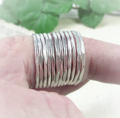 New hammered accent rings