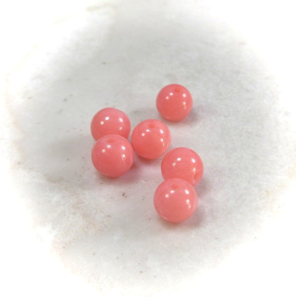 coral gemstone beads