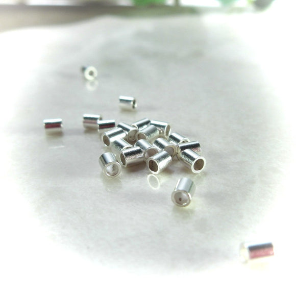silver crimp beads
